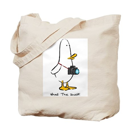 What the Duck: 1 of 4 Charact Tote Bag
