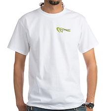 Whoosh Salmon Cannon Logo T-Shirt