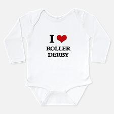 I Love Roller Derby Body Suit