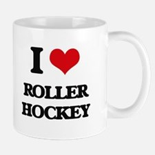 I Love Roller Hockey Mugs