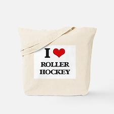 I Love Roller Hockey Tote Bag