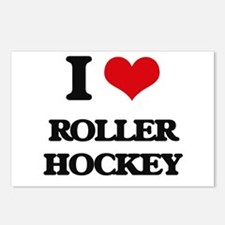 I Love Roller Hockey Postcards (Package of 8)