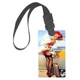 Pin up girl Luggage Tags