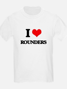 I Love Rounders T-Shirt