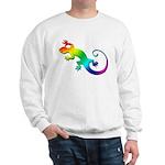 Rainbow Gecko Sweatshirt