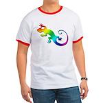 Rainbow Gecko Ringer T