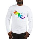 Rainbow Gecko Long Sleeve T-Shirt