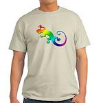 Rainbow Gecko Light T-Shirt