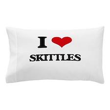 I Love Skittles Pillow Case