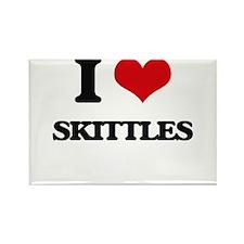 I Love Skittles Magnets
