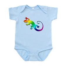 Rainbow Gecko Infant Bodysuit