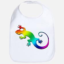 Rainbow Gecko Bib