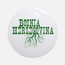Bosnia Roots Ornament (Round)