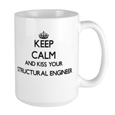 Keep calm and kiss your Structural Engineer Mugs