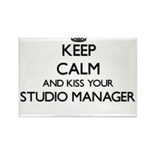 Keep calm and kiss your Studio Manager Magnets