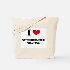 I Love Synchronized Skating Tote Bag