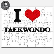 I Love Taekwondo Puzzle