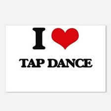I Love Tap Dance Postcards (Package of 8)