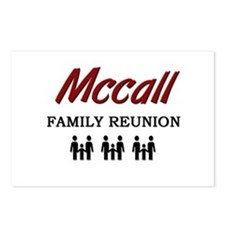 Mccall Family Reunion Postcards (Package of 8)