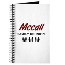 Mccall Family Reunion Journal