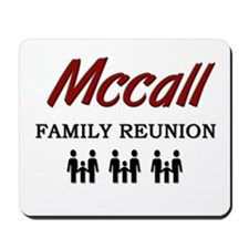 Mccall Family Reunion Mousepad
