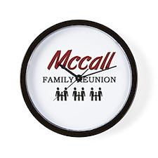 Mccall Family Reunion Wall Clock
