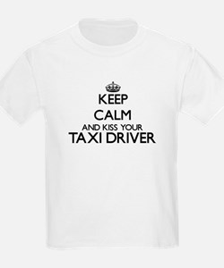 Keep calm and kiss your Taxi Driver T-Shirt