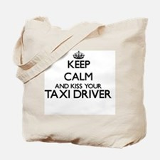 Keep calm and kiss your Taxi Driver Tote Bag