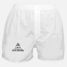 Keep calm and kiss your Taxi Driver Boxer Shorts