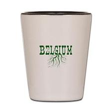 Belgium Roots Shot Glass