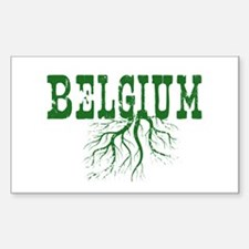 Belgium Roots Decal