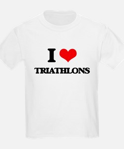 I Love Triathlons T-Shirt