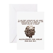 Alexander the Great Greeting Cards