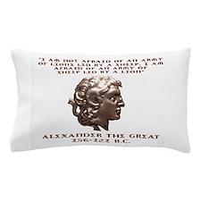 Alexander the Great Pillow Case