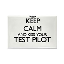 Keep calm and kiss your Test Pilot Magnets