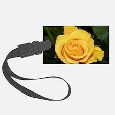 Rose yellow 001 Luggage Tag