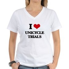I Love Unicycle Trials T-Shirt