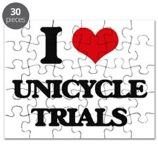 I Love Unicycle Trials Puzzle