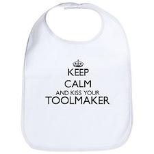 Keep calm and kiss your Toolmaker Bib