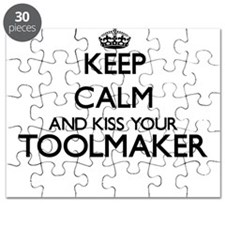 Keep calm and kiss your Toolmaker Puzzle