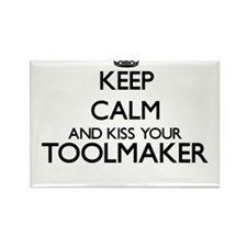 Keep calm and kiss your Toolmaker Magnets