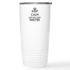 Keep calm and kiss your Travel Mug