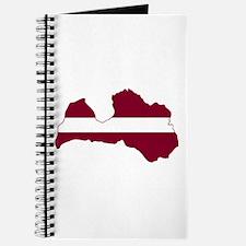 LatviaFlagMap Journal