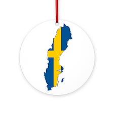 Sweden Ornament (Round)