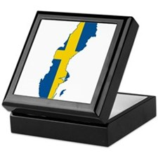 Sweden Keepsake Box
