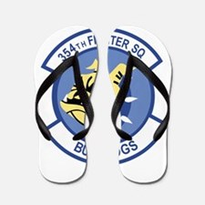 354th Fighter Squadron.png Flip Flops