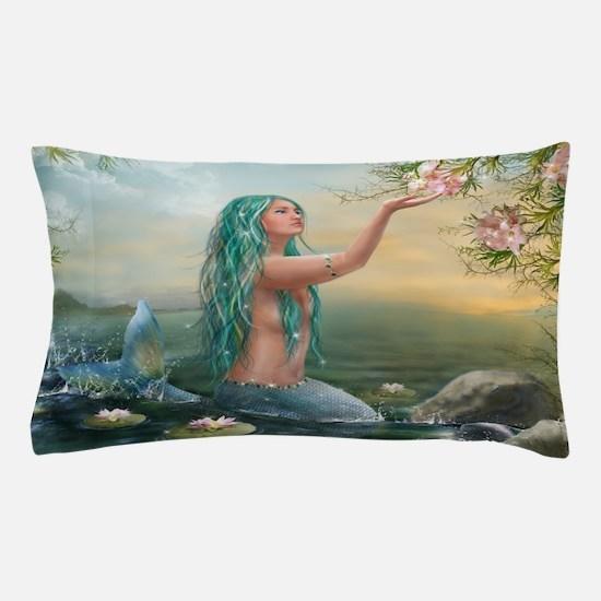 Marine Mermaid Pillow Case