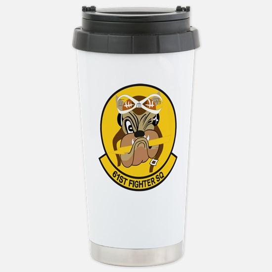 61st_fighter_sq.png Stainless Steel Travel Mug