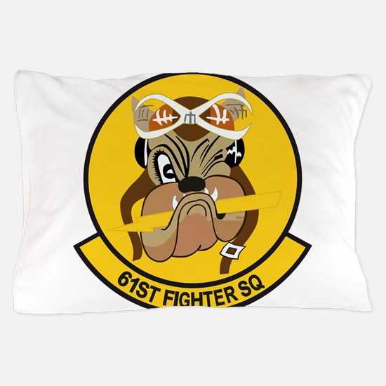 61st_fighter_sq.png Pillow Case