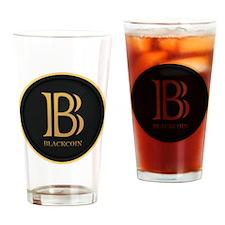 BlackCoin Drinking Glass